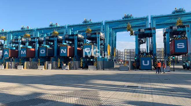 Vado Gateway inaugurazione piattaforma Maersk