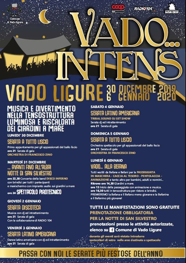 """Vado... Intens"" 2019 Vado Ligure"