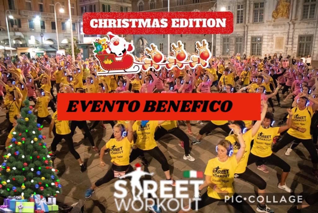 """""""Vivi il parco"""" Bà Dà Fit Loano Silent Street Workout Christmas Edition"""
