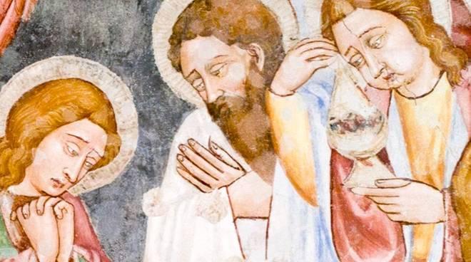 Affreschi Cappella Oliveri Finale Ligure