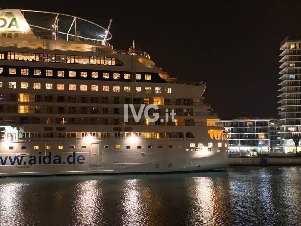 Aida cruises savona notte