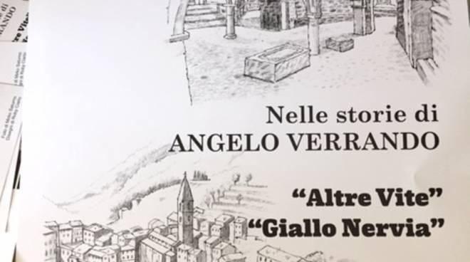 """""""Altre vite"""" e """"Giallo Nervia"""" libri Angelo Verrando"""