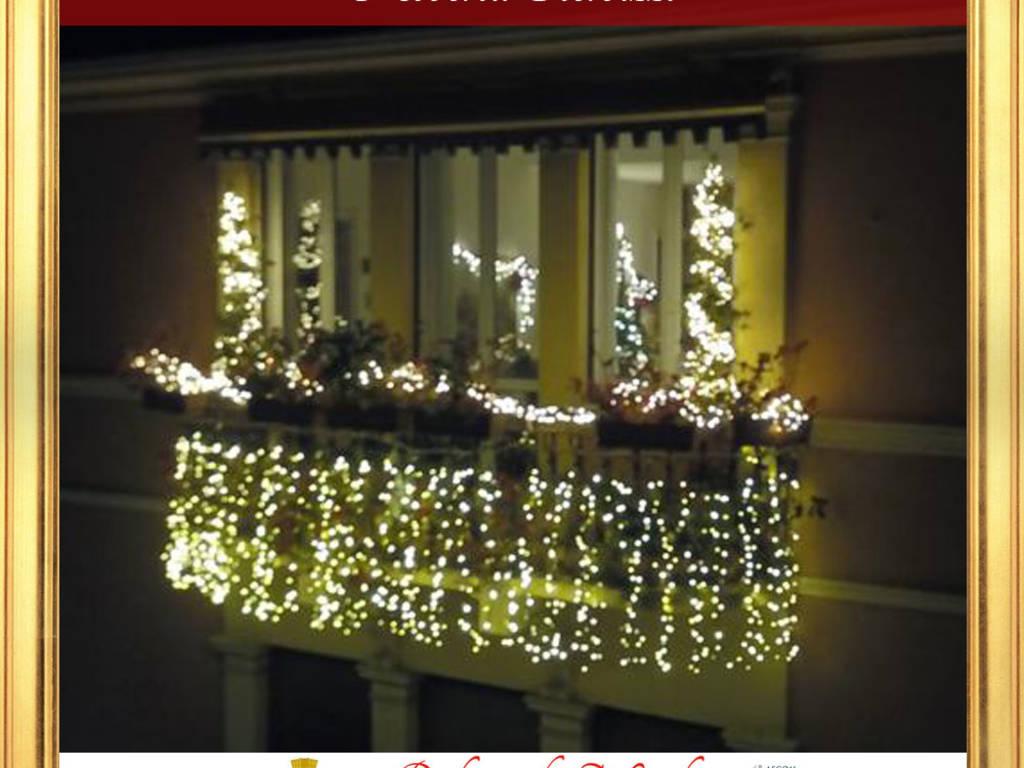 Addobbi Natalizi Balconi.Santa Margherita Premia I Balconi Di Natale Genova 24