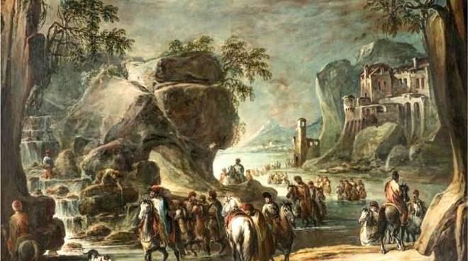 Battaglia storica dipinto