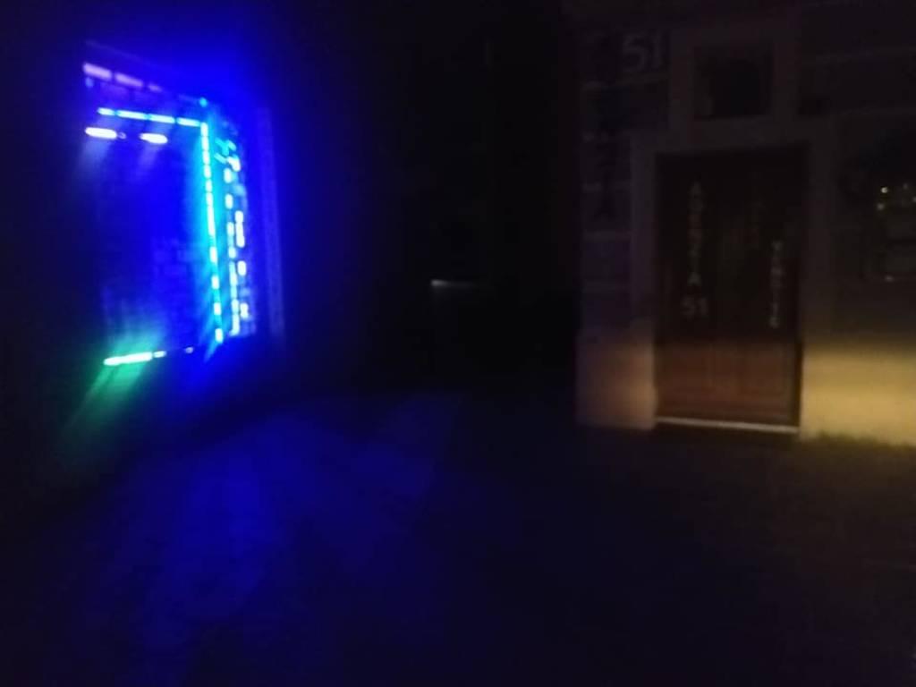 blackout spotorno