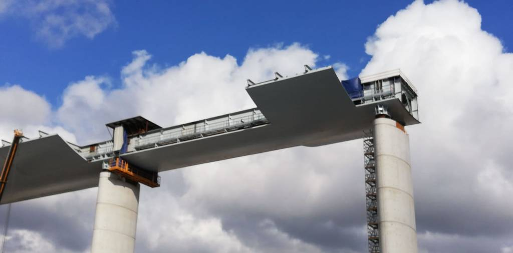 Cantiere nuovo ponte 27 gennaio