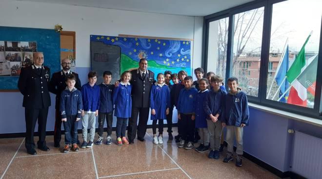 Carabinieri scuole Laigueglia