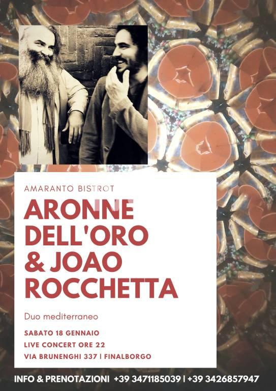 Aronne Dell\'Oro e Joao Rocchetta