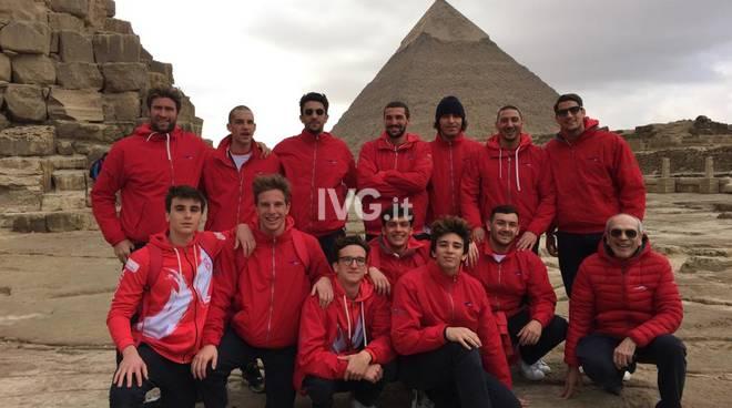 Pallanuoto:  La Carige Rari Nantes Savona vince il Gezira Water Polo International Tournament in Egitto