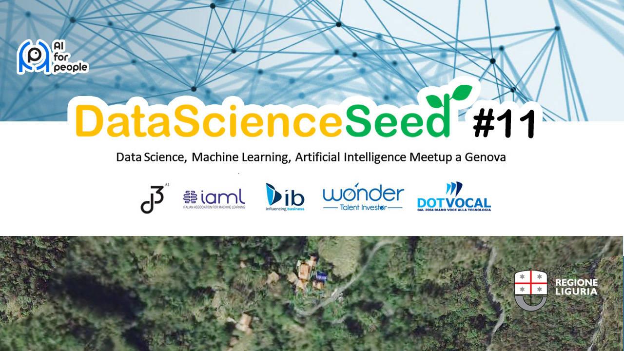 DataScienceSeed#11, l'utilizzo dell'intelligenza artificiale per il bene sociale