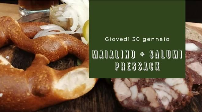 Cena tipica bavarese all'HB Genova con i Pressack, una vera specialità!