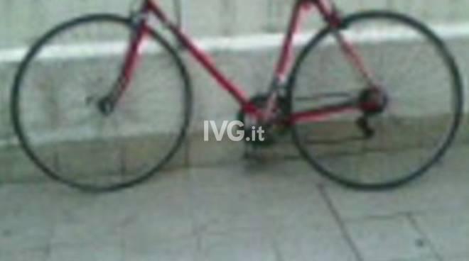 Bicicletta Rubata zona Santa Rita