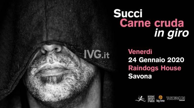 Giovanni Succi - Carne cruda in giro - live at Raindogs House