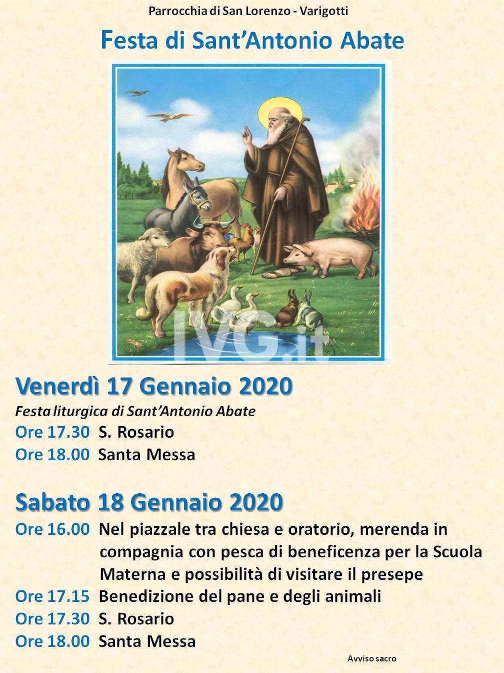 Festa di Sant\'Antonio Abate - Varigotti