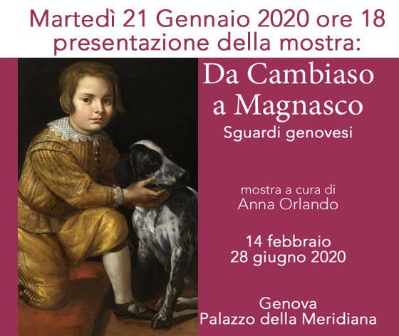 """Conferenza di presentazione della mostra: """"Da Cambiaso a Magnasco. Sguardi Genovesi"""""""