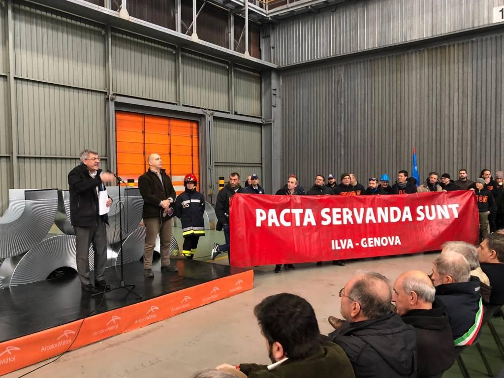 Commemorazione Guido Rossa Ex Ilva 2020
