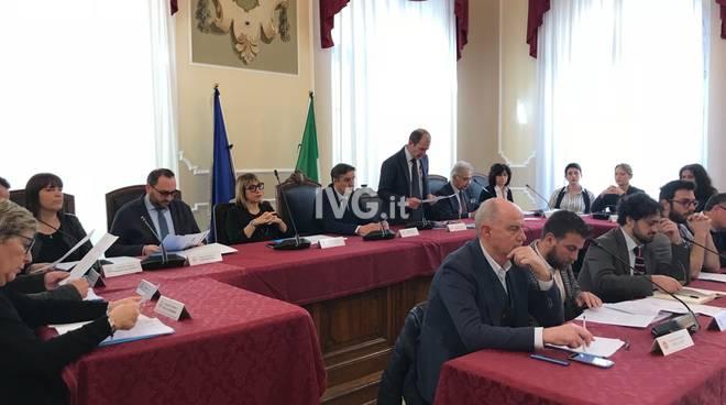 Consiglio d'urgenza infrastrutture liguri Alassio