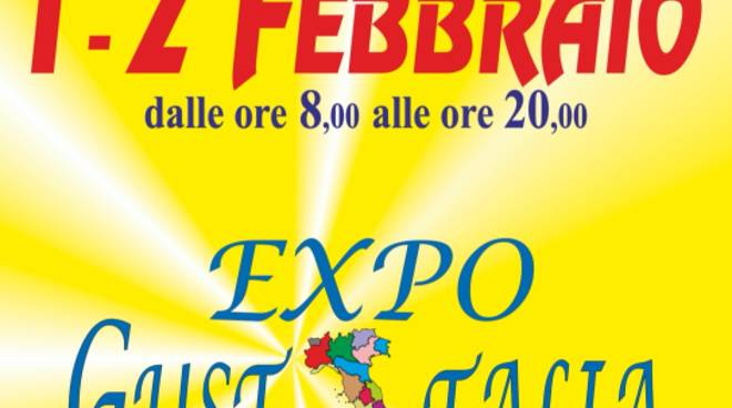 Expo GustItalia 2020 Albenga