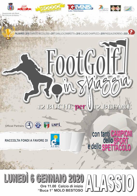 Footgolf in Spiaggia 2020 Alassio