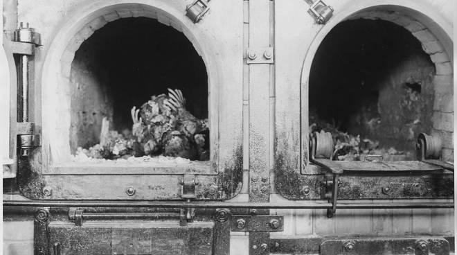 forno crematorio Buchenwald gilberto salmoni nazismo