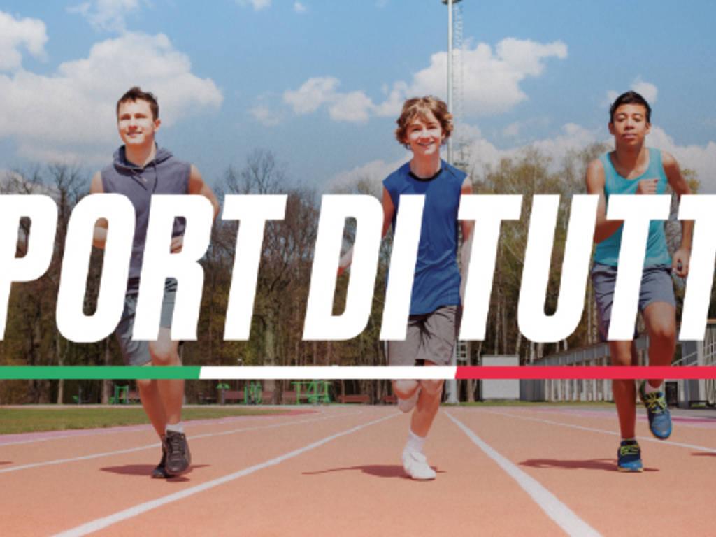 Sport di tutti Ministero politiche giovanili