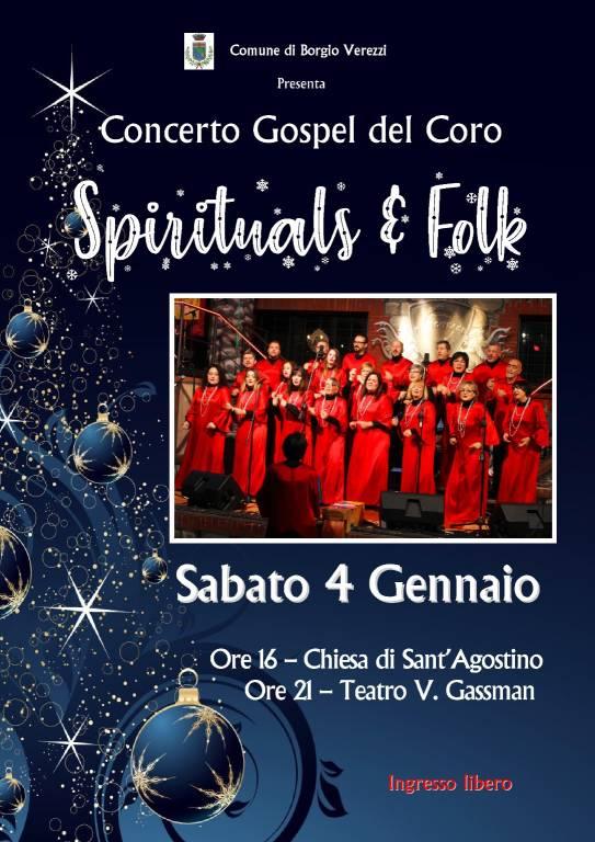 Spirituals & Folk concerto Borgio Verezzi