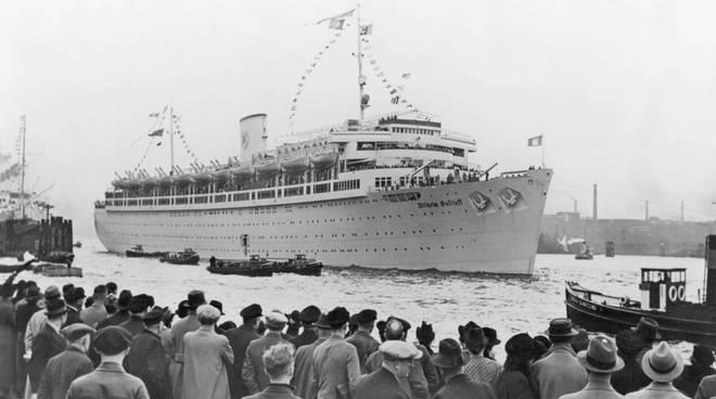 Gustloff nave tedesca affondata