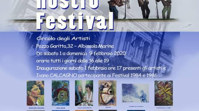 """""""Il nostro Festival"""" mostra d'arte Albissola Marina"""