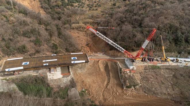 impalcato ponte viadotto a6
