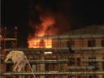 Incendio AreaT1 Ceriale Notte