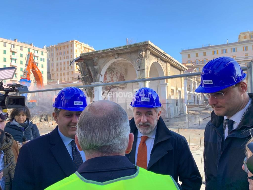 Iniziati lavori ex mercato corso Sardegna