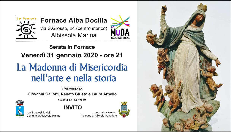 """""""La Madonna di Misericordia nell'arte e nella storia"""" incontro Albissola Marina"""