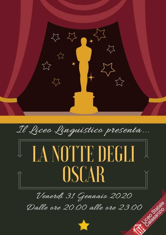 """""""La Notte degli Oscar"""" Carcare Liceo Linguistico Calasanzio"""