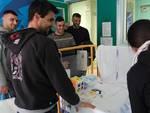La Virtus Entella in visita all'ospedale Gaslini di Genova