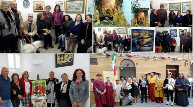 Mostra di Pittura, Scultura e Intarmosaico Varazze Gallery Malocello