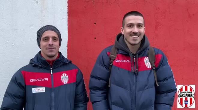 Nicholas Clemente e Matteo Spozio