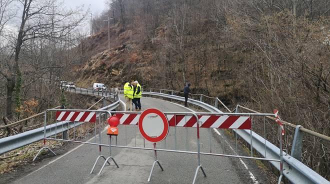 ponte chiuso pericolante val d'aveto