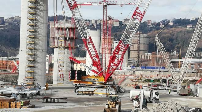 ponte per genova cantiere 13 gennaio