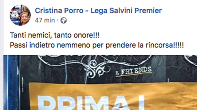 Porro Albenga Fascismo Onore