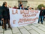 Protesta Valle Stura