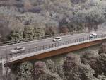 Rendering viadotto a6 nuovo