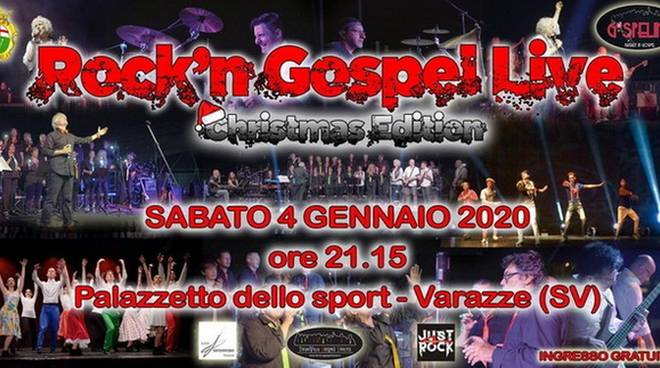 """Rock'n Gospel - Christmas Edition"" spettacolo musicale coreografico Varazze"