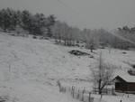 Torna la neve in entroterra