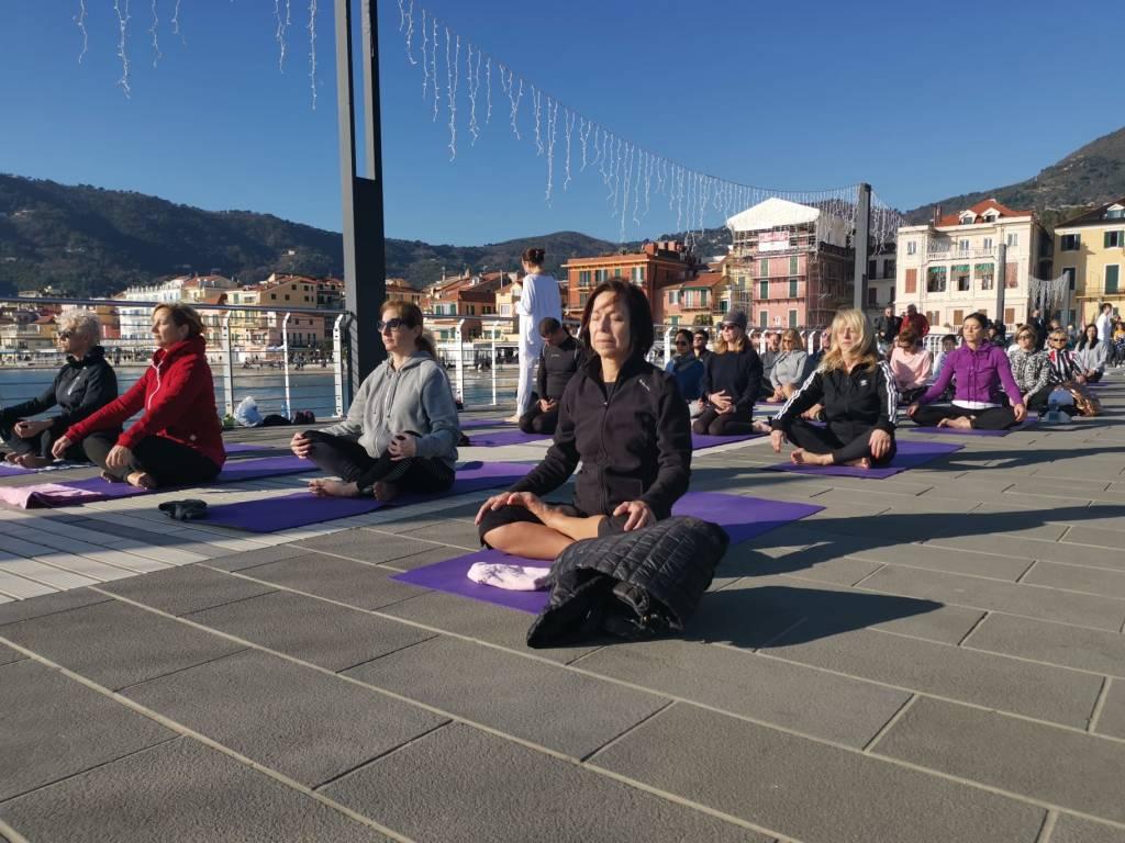 Yoga Alassio molo