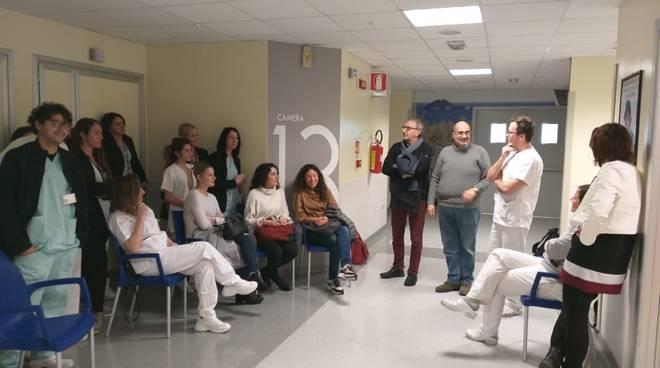 Assemblea lavoratori ortopedia Albenga