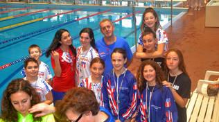 Un'Amatori Nuoto Savona vincente alle gare CSI di Loano