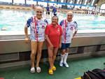 Fantastici Master dell'Amatori Nuoto Savona al Campionato Regionale