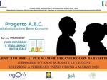 CORSO PRE-A1 GRATUITO per l'apprendimento della LINGUA ITALIANA dedicato alle DONNE STRANIERE con possibilita' di babysitteraggio per i loro bambini da 0/3 anni che saranno seguiti da Educatori Qualificati.