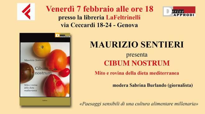 """Maurizio Sentieri presenta \""""Cibum nostrum\"""""""