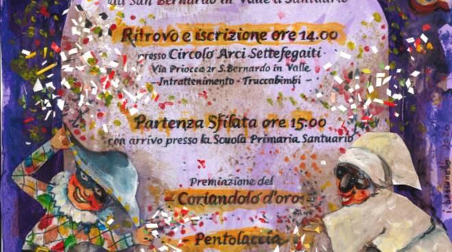 """Carnevallando"" 2020 festa Savona Santuario e San Bernardo in Valle"